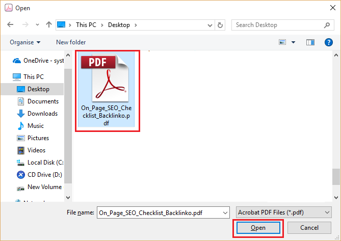 how to separate pdf file pages
