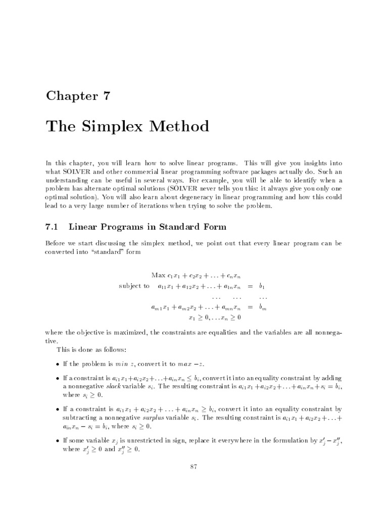 linear programming with matlab pdf duality